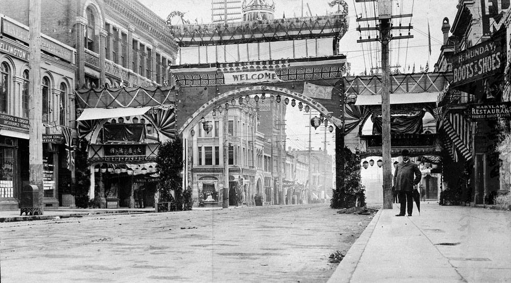 China Town Arch