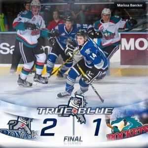 20161230 - Royals 2-1 win over Rockets